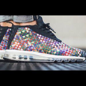EUC Nike Air Max Woven Boot SE: Multi, 12, LikeNew